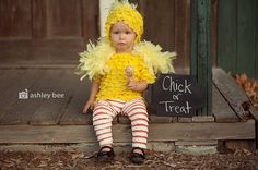 @Victoria Vera  THIS WOULD HAVE BEEN TOO VUTE! Chick or Treat Couture Costume by kangacoo on Etsy, $49.90