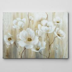 A hand wrapped and custom printed premium Giclee canvas just right for your home.