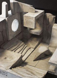 Modular architectural concrete spaces