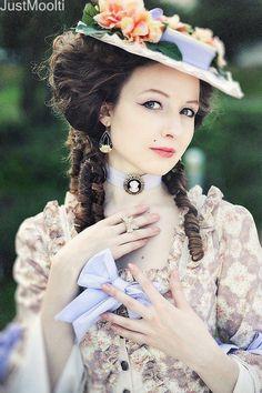 Imágenes Victorianas: Dama victoriana.