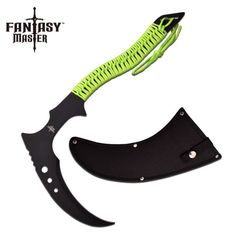 Fantasy Master Fixed Blade Kama for sale from AllNinjaGear.com - Your #1 source for all things Shinobi