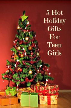 5 Hot #Holiday #Gifts For #Teen Girls #Christmas
