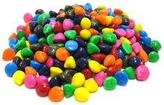 Bring your boring homemade cookies from blah to beautiful with rainbow candy-coated chocolate chips from Nuts.com.