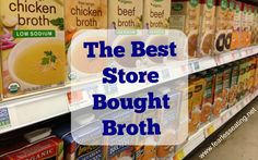 Need to remember this...Pacific brand organic broth is the best store bought broth