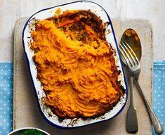Indian sweet potato & dhal pies