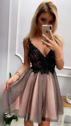 Dresses Short, Sweet 16 Dresses, Cheap Dresses, Junior Formal Dresses, Simple Homecoming Dresses, Prom Dresses, 1950s Dresses, Dance Dresses, Tulle Prom Dress