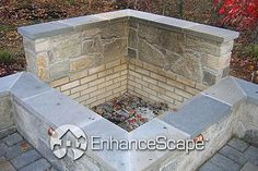 outdoor fireplace and fire pit photos,