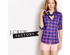 Extra 40% Off J. Crew Factory Clearance w/ Up to 50% Off Full-Price Sale (factory.jcrew.com)