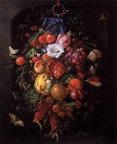 Jan Davidsz de Heem, Нидерланды (1606-1684).. Обсуждение на LiveInternet - Российский Сервис Онлайн-Дневников