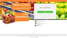 Win a Sainsbury Gift Card! For UK only All you have to do is leave your postal code. Postal Code, Giveaways, Competition, Healthy Living, Coding, Cards, Gifts, Presents, Healthy Life