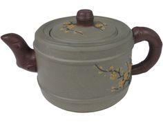Bamboo and Golden Plum Blossom Yixing Teapot Golden Plum, Yixing Teapot, Asian Garden, Bamboo Plants, Brewing Tea, Tea Ceremony, Teapots, Sugar Bowl, Tea Time