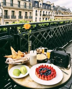 Chanel Filigree Bag With Breakfast