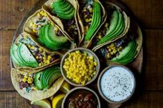 Recipes for a Taco Cleanse We've compiled the best vegan taco recipes.We've compiled the best vegan taco recipes. Superfood, Vegan Foods, Vegan Recipes, Healthy Taco Recipes, Taco Cleanse, Street Food, The Best, Healthy Snacks, Healthy Eating