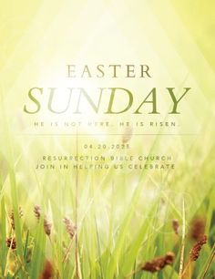 Easter  Easter Flyer    Easter And Medium