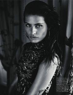 ''La Déesse'' - Isabeli Fontana was photographed by Mario Sorrenti for Vogue Paris (October 2011)
