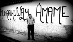 """""""MUNARIKUWAY Ámame""""    Cuyo significado es en el Runa Simi o Quechua. Idioma que hablan los Incas de ayer y de hoy.- Acción Poética Cusco."""