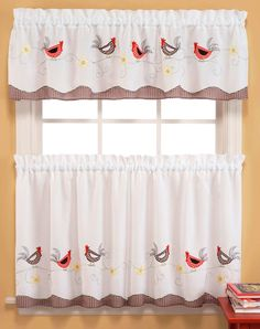 I love these curtains. I think I will buy these for my kitchen.