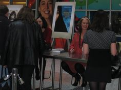 Arlene Dickinson at the  Canada reads book signing