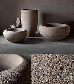 Kornegay Design offers the most creative cast concrete planters available on a market in a variety of integral pigments as well as natural colors.
