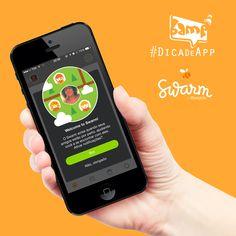 A nossa #DicadeApp hoje é o #Swarm, a divisão do Foursquare, que agora tem o aplicativo como complementar. O #Foursquare continua como um app focado em avaliação de locais, e o Swarm tenderá para mais interações entre os usuários e checkins, com algumas novidades. A ideia ainda está sendo analisada, de acordo com a resposta do público, mas parece bem bacana e mais útil. #DicaBamp #BampDM #SocialMedia