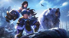 Ultra HD Wallpaper - Masha, Winter Guard, Skin, Mobile Legends, for D. - My list of quality wallpaper Winterguard, Moba Legends, Character Art, Character Design, Marching Band Humor, Mobile Legend Wallpaper, Hd Wallpaper, Wallpapers, The Legend Of Heroes
