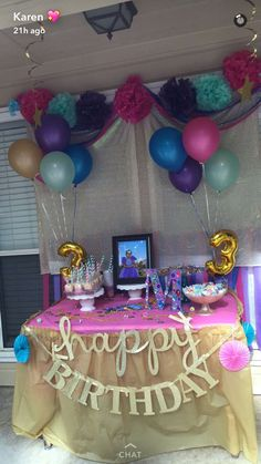 Shimmer and shine theme party ✨