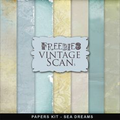 Far Far Hill - Free database of digital illustrations and papers: Freebies Papers Kit - Sea Dreams