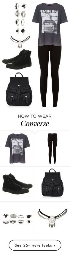 """#220"" by uccelli on Polyvore featuring Wet Seal, And Finally, Converse and Accessorize"