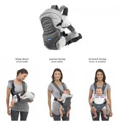 chicco soft & dream baby carrier 3 ways