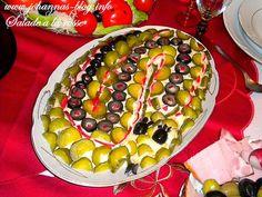 Johanna's recipes: Salade a la russe Watermelon, Fruit, Recipes, Food, Salads, Recipies, Essen, Meals, Ripped Recipes