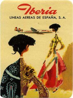 Iberia. Lineas aéreas españolas  Spain, 1940