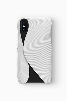FOLD Case for iPhone X in white, Design by Matthijs Kok for Freshfiber Parametrisches Design, Packaging Design, Branding Design, Parametric Design, 3d Prints, Minimal Design, Graphic, Textures Patterns, Architecture Design