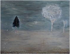 """Nanna Susi, 2011: """"Out at Night"""",160 x 180 cm (oil on canvas)"""