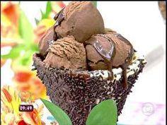 Nhami!! SORVETE DE BRIGADEIRO - Foto de Mais Você na TV
