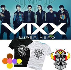 VIXX Voice Visual Value in Excelsis Tshirt N Leo Ken Ravi Hyuk Hong Bin T-shirt