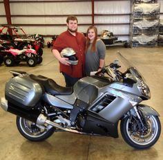 Thanks to the Ford family from Wilmer MS for getting a 2008 Kawasaki Concours at Hattiesburg Cycles