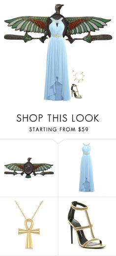 """Egypt - Goddess Isis"" by mprocedi on Polyvore featuring moda, Allurez e Tom Ford"