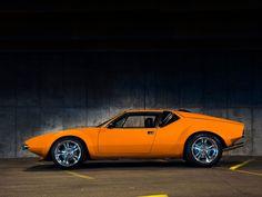 De Tomaso Cars   1972 De Tomaso Pantera - Pantera Perfection