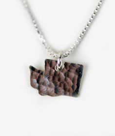 Calling all Washingtonians! Keep your home close to your heart with this darling silver necklace from Oh So Antsy <3 $38