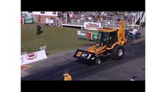 Video: Wheelstanding JCB GT Dragster Backhoe Turns Tidy Quarter Mile
