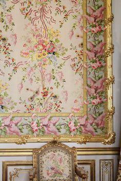 Marie Antoinette's bedchamber