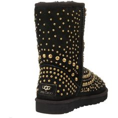 #UGGCLAN   UGG BOOTS Jimmy Choo Short Studded Ugg Boot found on Polyvore #uggs