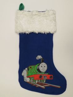 Thomas the Tank Engine Christmas Stocking featuring Percy