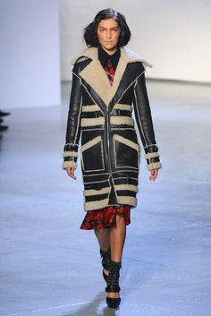 Can I have this coat? Please? Rodarte Fall 2012 RTW.
