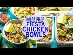 Meal Prep Fiesta Chicken Rice Bowls   The Girl on Bloor