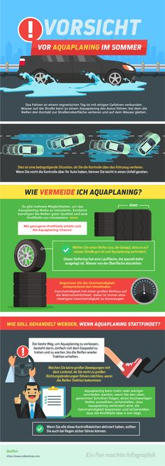 Dangers of aquaplaning / Nokian Tyres Summer Rain, Summer Time, New Tyres, Thunderstorms, Weather Conditions, Rainy Days, Innovation, Autos, Automobile