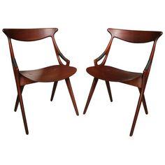 Arne Hovmand-Olsen for Mogens Kold Furniture - Teak Chairs -  Denmark