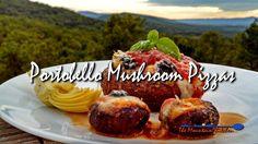 Portobello Mushroom Pizzas | The Mountain Kitchen #MeatlessMonday
