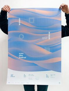 Landscape elements but stylised simplified forms and or colour Poster Layout, Poster Ads, Typography Poster, Typography Design, Cover Design, Book Design, Layout Design, Design Web, Type Design