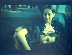 Nan Goldin | Suzanne and Philippe on the train, Long Island, N.Y. (1985) | Available for Sale | Artsy